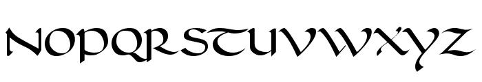 Carolingia [BigfooT]  Normal Font UPPERCASE