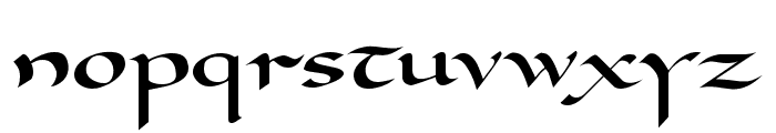 Carolingia [BigfooT]  Normal Font LOWERCASE