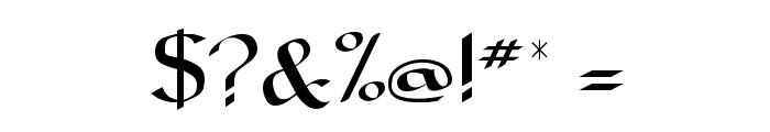 Carolingia Font OTHER CHARS