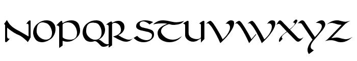 Carolingia Font UPPERCASE