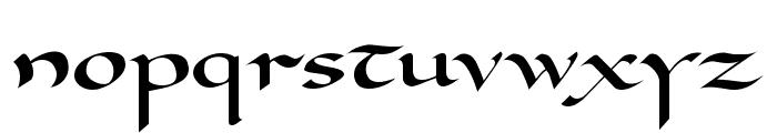 Carolingia Font LOWERCASE