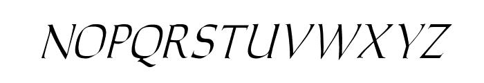 Carolus Italic Font LOWERCASE
