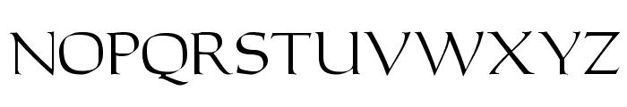 Carolus Regular Font UPPERCASE