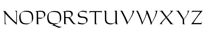 Carolus Regular Font LOWERCASE