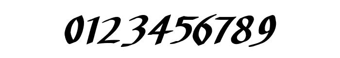 CarolusKlein-Oblique Font OTHER CHARS