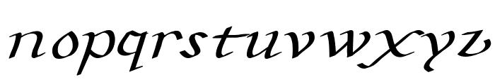 CarolusKlein-Oblique Font UPPERCASE