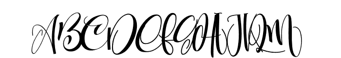 CarolynePersonalUse Font UPPERCASE