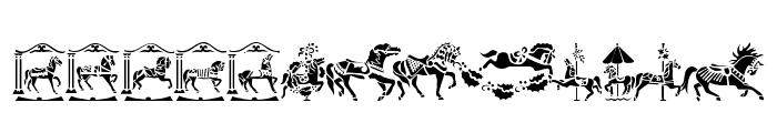 Carousel Horses Font UPPERCASE