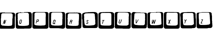Carpal Tunnel Font UPPERCASE