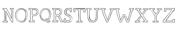 Carpe Diem Font UPPERCASE