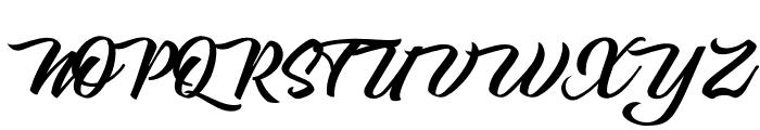 Carpenters Personal Use Regular Font UPPERCASE