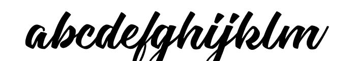 Carpenters Personal Use Regular Font LOWERCASE