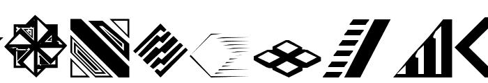 CarrDingbats1 Regular Font UPPERCASE