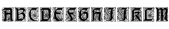 Carrick Caps Font LOWERCASE
