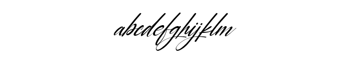 Carrie  Gallerie Italic Font LOWERCASE
