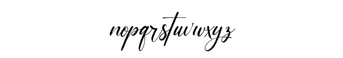 Carrie  Gallerie Font LOWERCASE