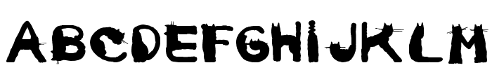 CarrieCattSH Font LOWERCASE