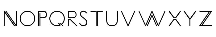CarrinadyBold Font UPPERCASE