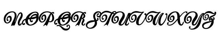 Carrington Font UPPERCASE