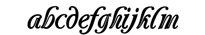 Carrington Font LOWERCASE