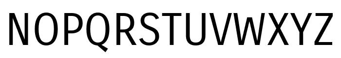 Carrois Gothic Regular Font UPPERCASE