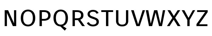 Carrois Gothic SC Regular Font LOWERCASE