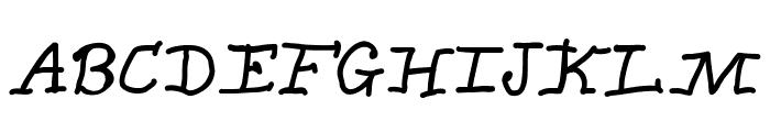 CarrollusMagnus Font UPPERCASE