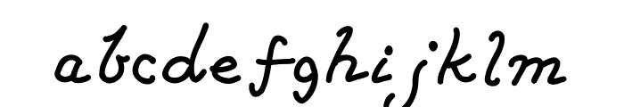 CarrollusMagnus Font LOWERCASE