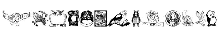 Carsten'sOwls Font LOWERCASE