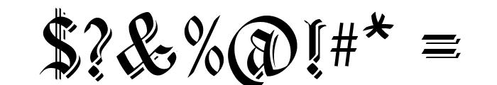 CartaMagna-Line Font OTHER CHARS