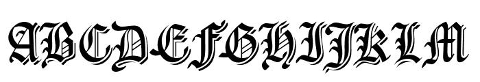 CartaMagna-Line Font UPPERCASE