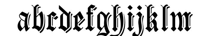 CartaMagna-Line Font LOWERCASE