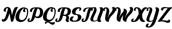 Carten Font UPPERCASE