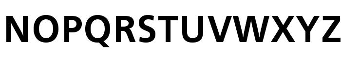 CartoGothicStd-Bold Font UPPERCASE