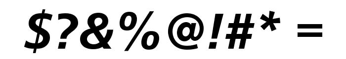 CartoGothicStd-BoldItalic Font OTHER CHARS