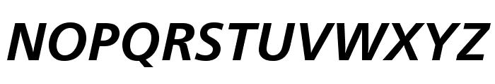 CartoGothicStd-BoldItalic Font UPPERCASE