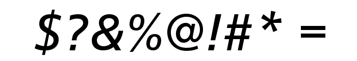CartoGothicStd-Italic Font OTHER CHARS