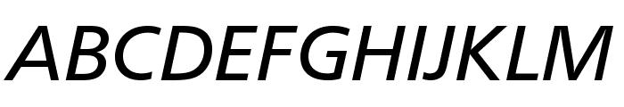 CartoGothicStd-Italic Font UPPERCASE