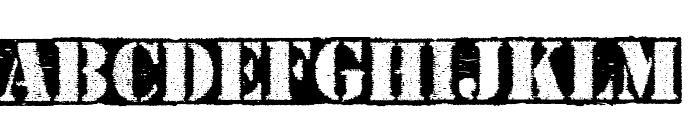 Carton Font UPPERCASE