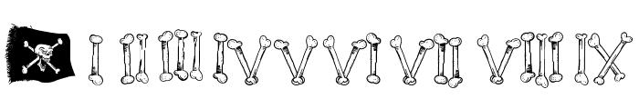 Cartoon Bones Font OTHER CHARS