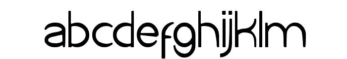 Cartoon Character Font LOWERCASE