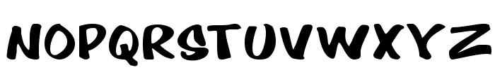Cartoon Regular Font UPPERCASE
