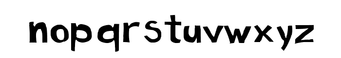 Cartoon Toy Font LOWERCASE