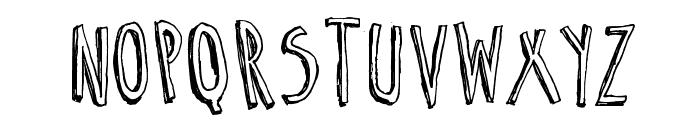 Cartoon  Tunes Font UPPERCASE