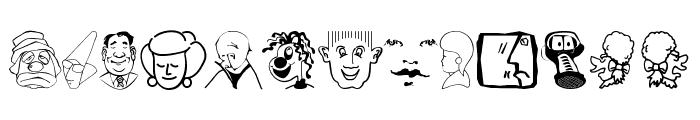 CartoonHeads Font UPPERCASE