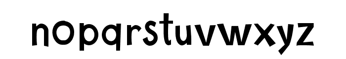 CartoonToyTurbo Font LOWERCASE