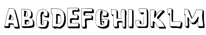 Cartoonic Massive 3D Font LOWERCASE