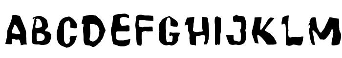 Cartoonic Massive Wacky Font UPPERCASE