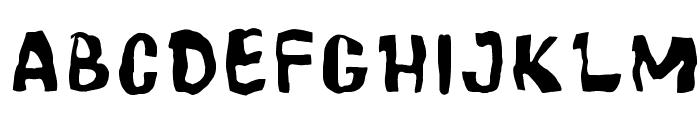 Cartoonic Massive Wacky Font LOWERCASE