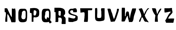 Cartoonic Massive Font LOWERCASE